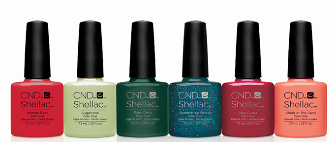 Shellac Summer 2017 Colours